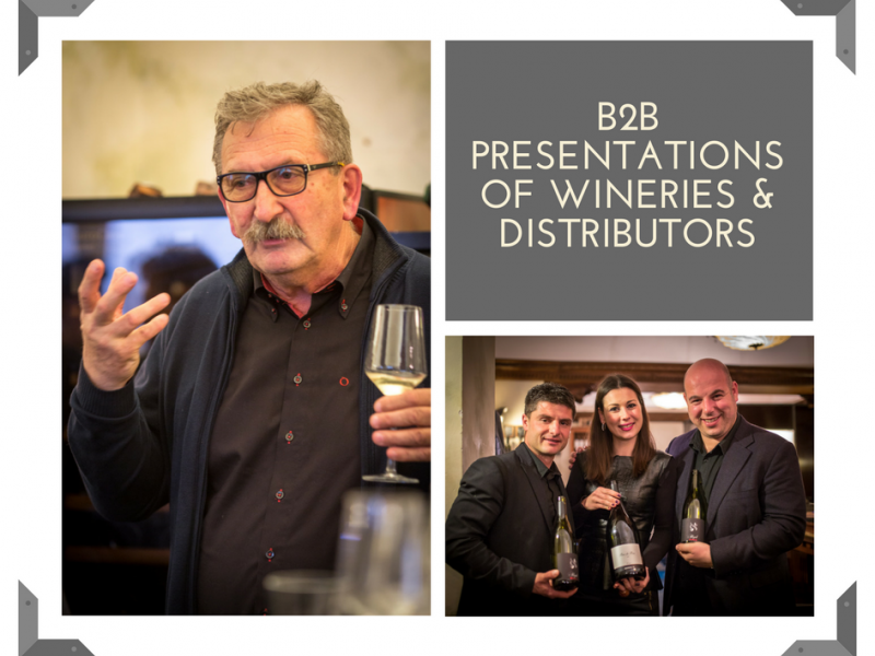 B2B presentations for hospitality professionals
