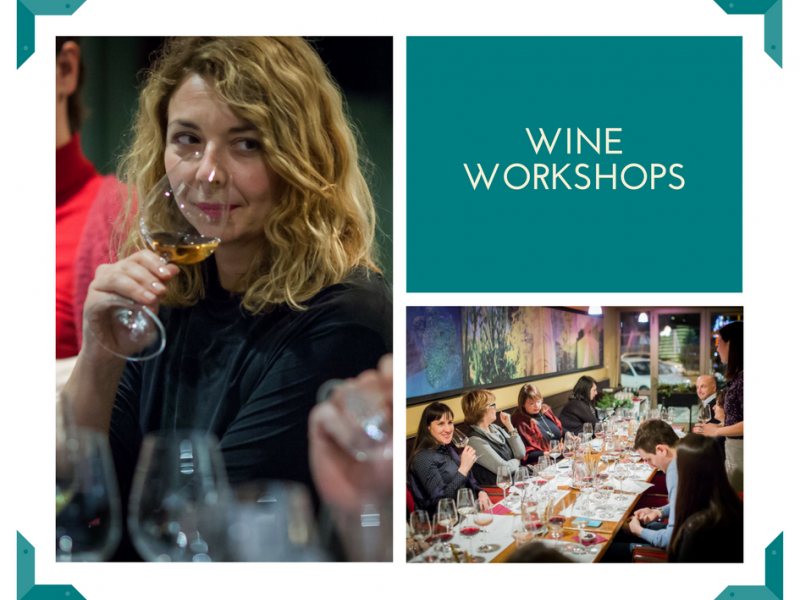 Wine workshops for beginners & enthusiasts